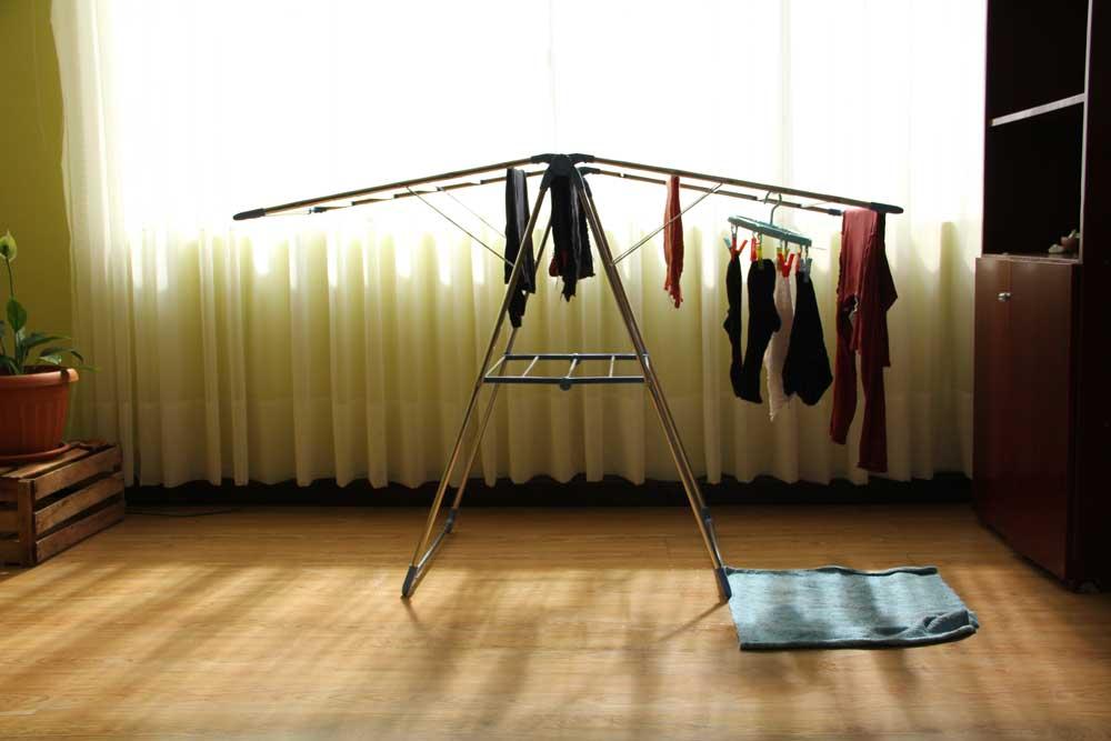 Los tendederos de ropa en la ciudad